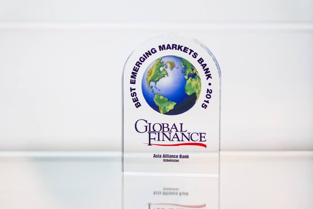 «ASIA ALLIANCE BANK» was named one of the World's Best Emerging Markets Banks in Asia-Pacific in 2015